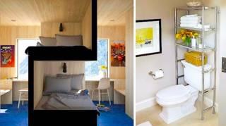 22 Super Idées Pour Gagner de la Place Dans un Petit Appartement