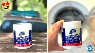Comment Utiliser le Bicarbonate de Soude Pour le Linge  5 Super Astuces