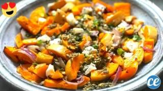 Courge Butternut Rôtie aux Lentilles & Gorgonzola : Une Recette Facile & Pas Chère