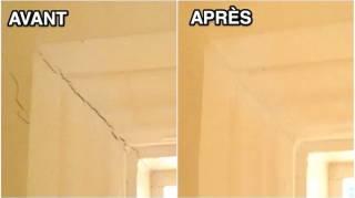 L'Astuce Pour Reboucher une Fissure dans un Mur Avec du Bicarbonate