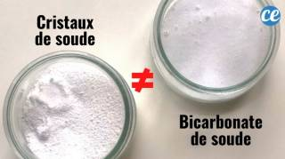 Quelle Différence Entre le Bicarbonate de Soude et les Cristaux de Soude