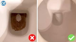 Traces Noires Au Fond des WC : L'Astuce Naturelle Pour les Éliminer SANS Effort