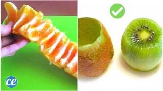 15 Astuces Pour Éplucher les Fruits & Légumes (et Gagner Plein de Temps)