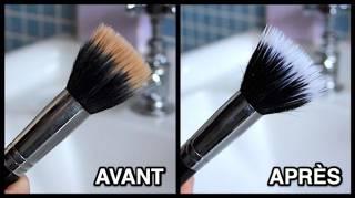 Comment Je Nettoie Mes Pinceaux de Maquillage (Pour Garde une Belle Peau)