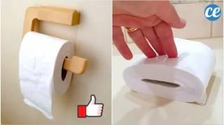 L'Astuce de Génie Pour Faire Durer le Papier Toilette Plus LONGTEMPS