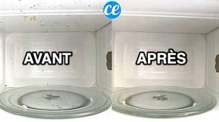 L'Astuce Facile Pour Nettoyer Le Micro-Onde Sans Frotter