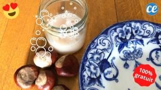 Mon Liquide Vaisselle aux Marrons : Super Dégraissant & Gratuit
