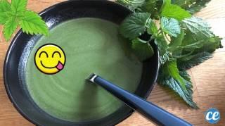 recette soupe à l'ortie