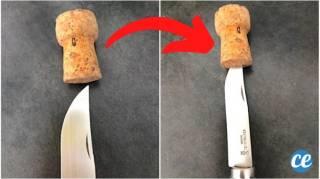 L'Astuce Pour Protéger une Lame de Couteau (Et Éviter de Se Couper)