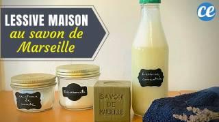 """Lessive au Savon de Marseille : """"La Meilleure Recette Que J'ai Utilisée"""""""