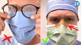Port du Masque : L'Astuce d'un Chirurgien Pour Éviter la Buée Sur Vos Lunettes