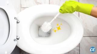 Du Calcaire dans les Toilettes  7 Astuces Naturelles Super Efficaces