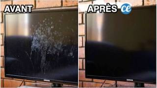 Enfin une Astuce Facile Pour Nettoyer Son Écran de Télé SANS Traces