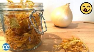 Faites-Vous Même vos Oignons Frits Bien Croustillants (Facile et Naturel)