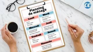 Le Planning de Ménage Par Jour Semaine & Mois Pour une Maison Toujours Nickel