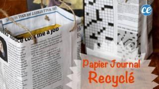 Le Tuto Pour Faire un Paquet Avec du Papier Journal