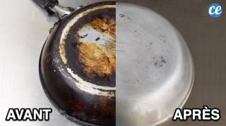 10 Astuces Miracles Pour Nettoyer le Dos Noirci d'une Poêle Ou Casserole