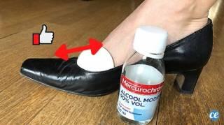 agrandir chaussures qui fait mal