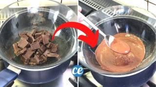 Comment Faire Fondre du Chocolat au Bain-Marie