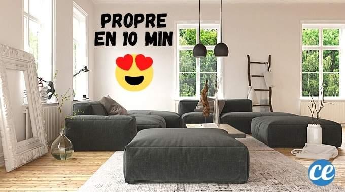 10 Astuces Pour Faire Croire Que Votre Maison Est Propre (SANS Faire le Ménage).