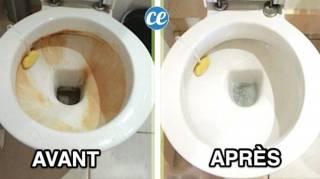 Voici Comment Détartrer les Parois et Rebords des WC Sans Effort