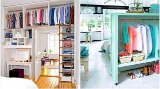 15 Super Idées de Dressing Pour un P'tit Appartement