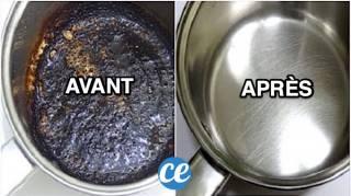 Comment Nettoyer une Casserole Brulée Avec du Bicarbonate en 3 Min