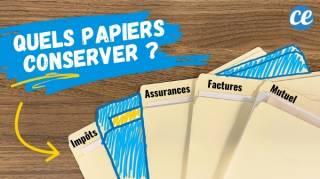 Impôts Assurance Banque Combien de Temps Faut-il Conserver ses Papiers