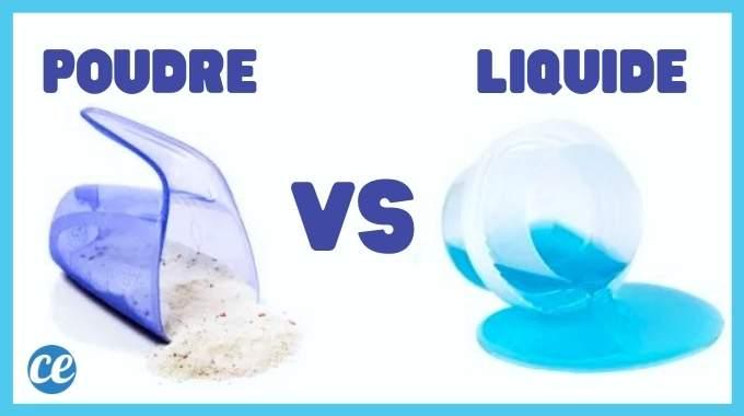 Lessive en Poudre ou Liquide : Laquelle Choisir ? La Réponse Ici.
