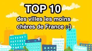Top 10 des Villes en France Où les LOYERS Sont les MOINS Chers