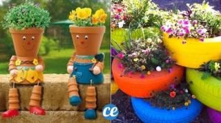 19 Super Idées Faciles et Pas Chères Pour Embellir Votre Jardin