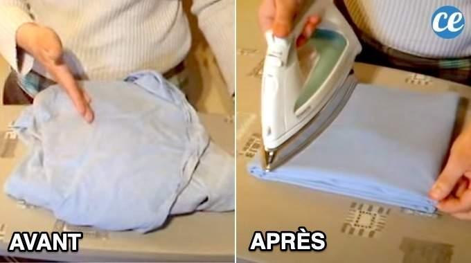 L'Astuce de Pro Pour Repasser un Drap Housse (Facile et Rapide).