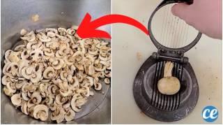 Comment Couper un Paquet de Champignons en un Temps Record