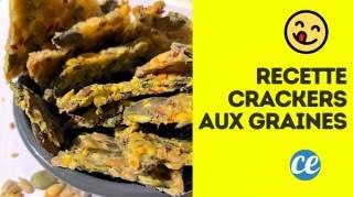 Comment Faire des Crackers Maison  Ma Recette Facile Prête en 5 Min