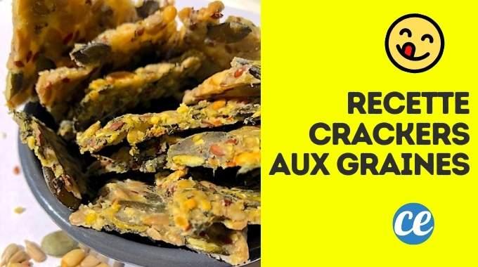 Comment Faire des Crackers Maison ? Ma Recette Facile Prête en 5 Min.