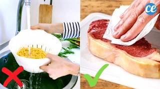 36 Erreurs Que Tout Le Monde Fait en Cuisine (Et Comment Les ÉVITER)