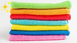 9 Bonnes Raisons de Tout Nettoyer Avec un Chiffon Microfibres et de l'Eau