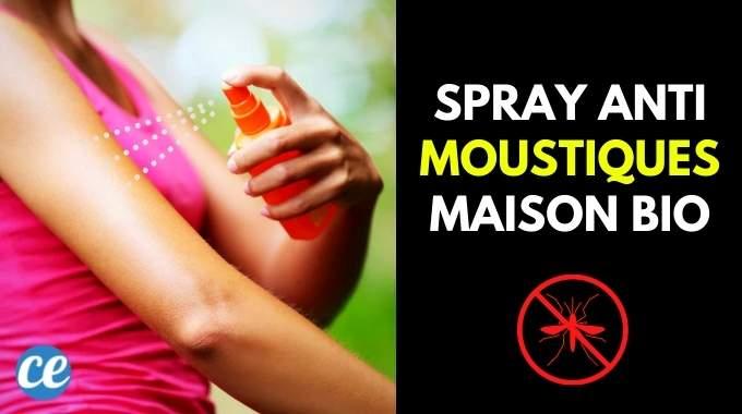 Fabriquez Votre Spray Anti-Moustiques Bio en 30 Secs (Pour Seulement 1 Euro).