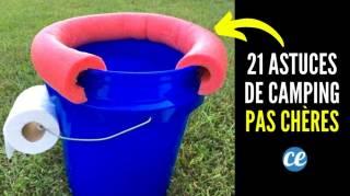 21 Super Astuces Pour le Camping Qui Ne Coûtent Pas un Rond (Ou Presque)
