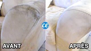 Comment Nettoyer un Canapé en Tissu Non Déhoussable SANS Effort