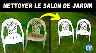 Nettoyage du Salon de Jardin : 3 Astuces Pour Lui Redonner Toute Sa Blancheur