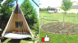 Vieux Trampoline : 19 Façons Ingénieuses de le Réutiliser Dans Son Jardin
