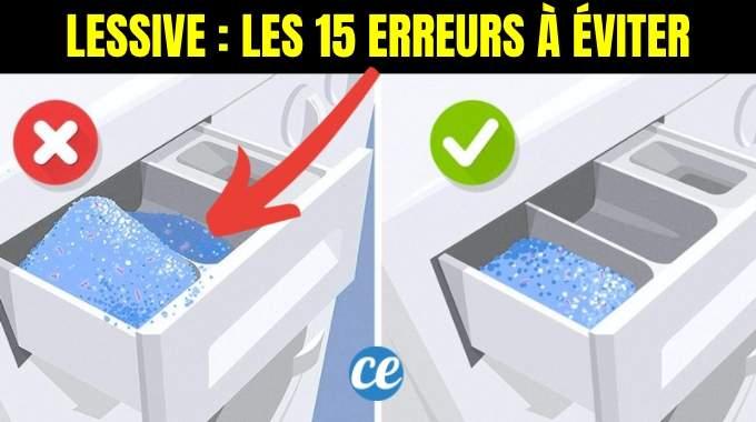 15 Erreurs Que Tout le Monde Fait Quand On Lave Ses Vêtements en Machine.