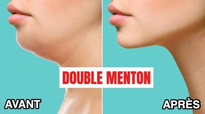 Comment Perdre Son Double Menton ? 6 Astuces Faciles et Rapides.