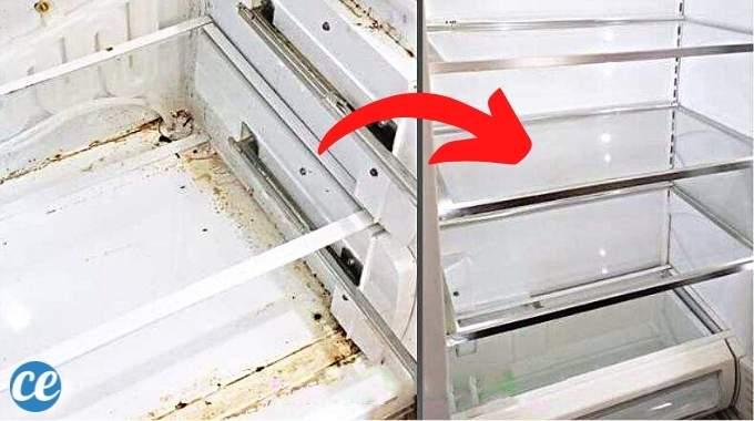 Nettoyage Frigo : 11 Astuces Hyper Efficaces Pour le Rendre Parfaitement Propre.