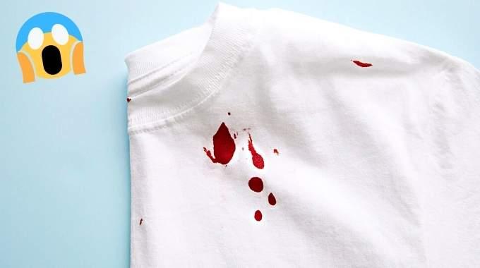 Tache de Sang Sur un Vêtement Blanc : 7 Astuces Pour l'Enlever Facilement.