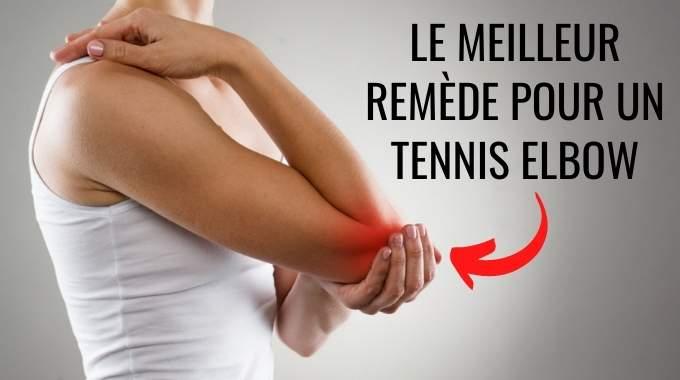 Tennis-Elbow : Le Traitement Naturel Pour Soulager Cette Douleur au Coude.