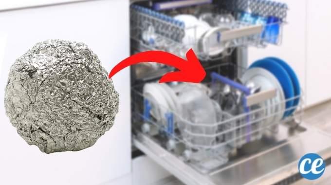 Pourquoi Mettre une Boule de Papier Alu Dans Son Lave-Vaisselle ?