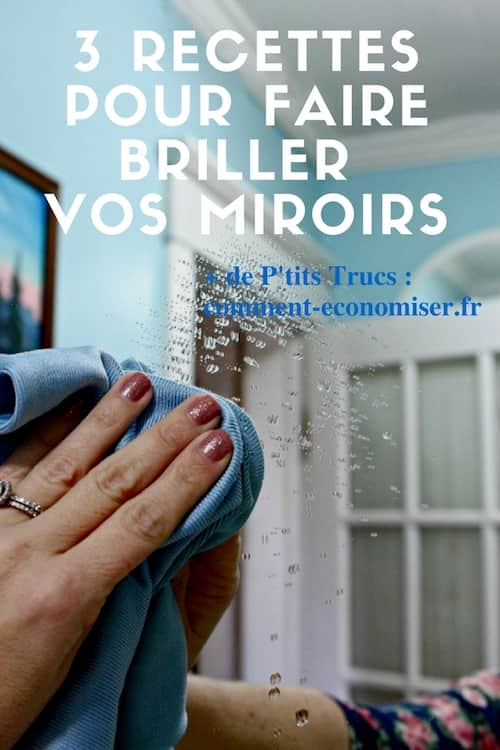 3 recettes secr tes pour faire briller vos miroirs sans. Black Bedroom Furniture Sets. Home Design Ideas
