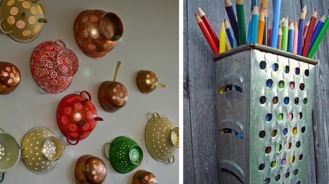 Häufig 28 Idées Originales Pour Recycler Vos Vieux Objets de Cuisine. CG85